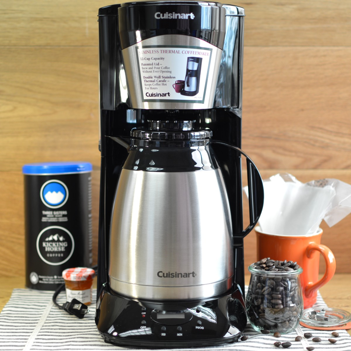 Cuisinart coffee maker stainless steel carafe - Cuisinart Coffee Maker Stainless Steel Carafe 6