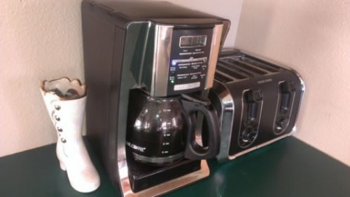 Mr. Coffee coffee maker user image