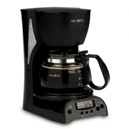 Review of Mr. Coffee 4 cup coffee maker DRX5