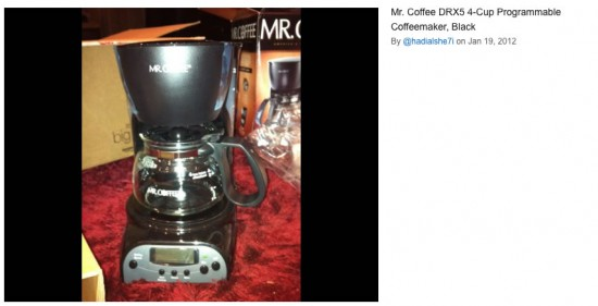 Review of the Mr. Coffee 4 cup coffee maker DRX5