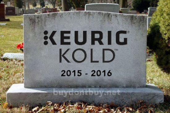 Get your Keurig Kold refund before that goes bye-bye, too!