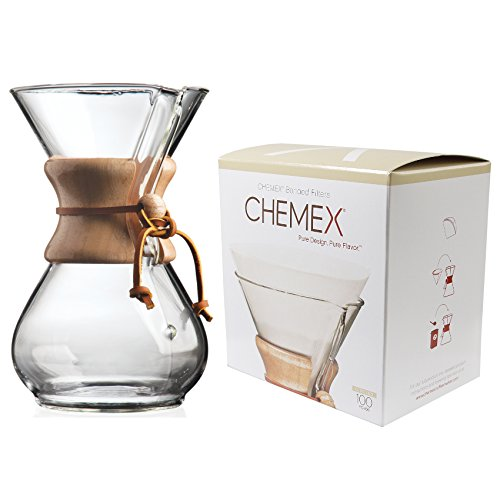 chemex coffee maker with filters