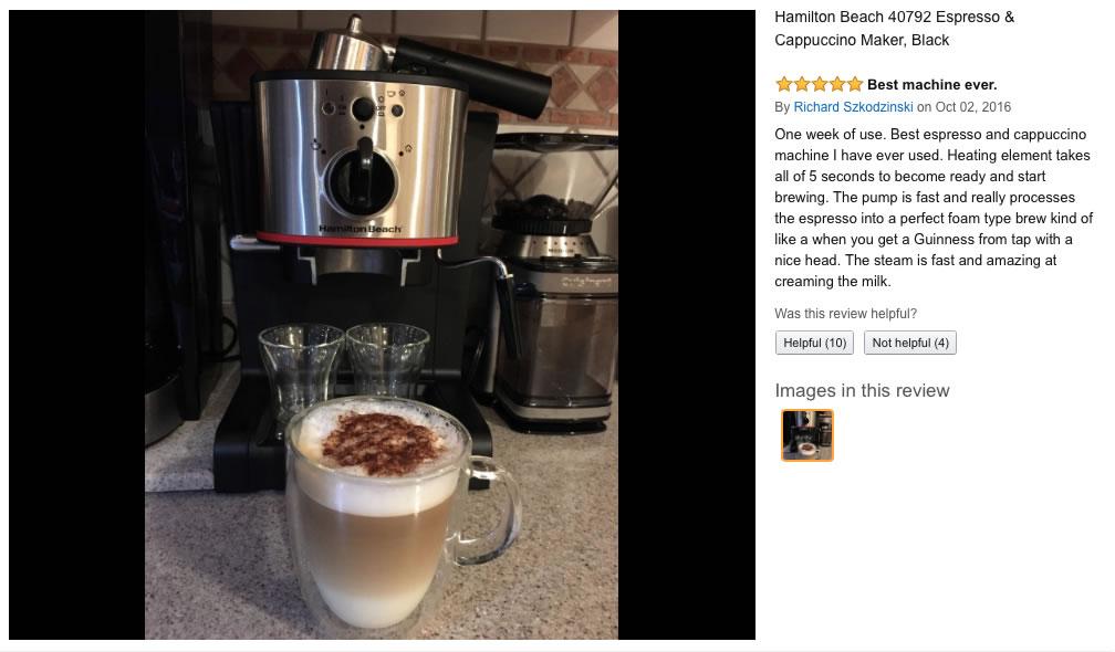 V saeco espresso machine