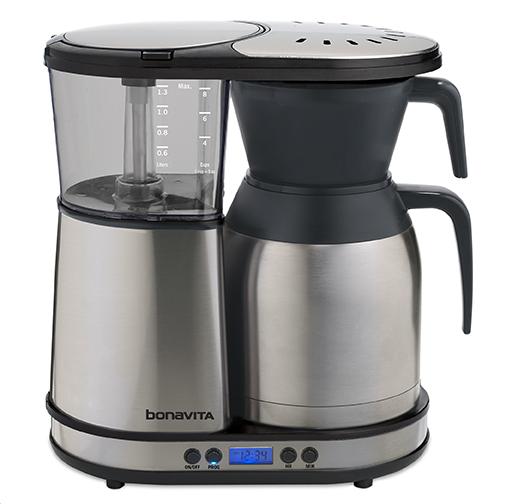 scaa certified coffee makers Bonavita BV1900TD