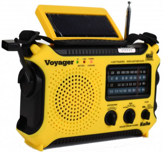 emergency radio hurricane survival