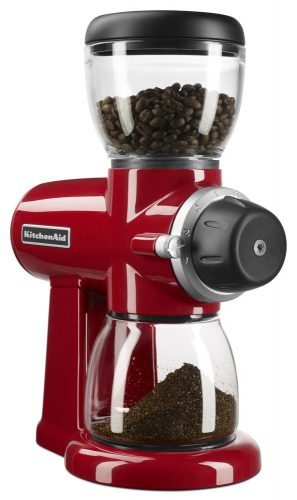 gifts for coffee lovers kitchenaid burr coffee grinder