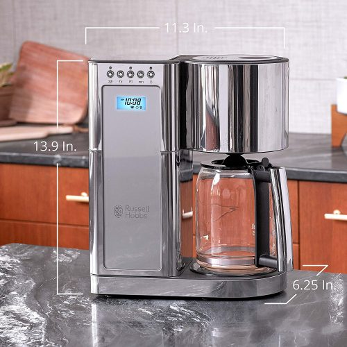 russell hobbs coffee maker dimensions