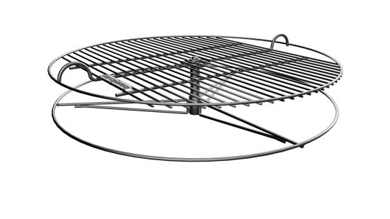 adjustable height cooking grate