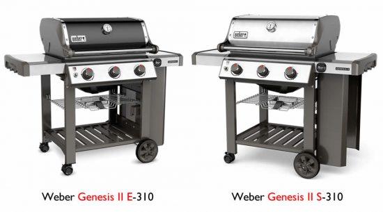 weber spirit vs. genesis grill comparison