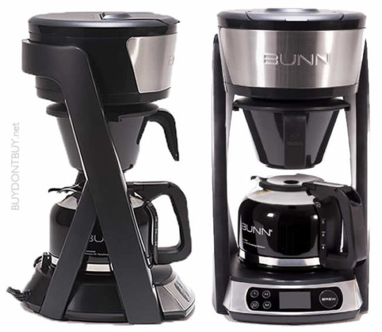 bunn heat n brew sca certified coffee maker