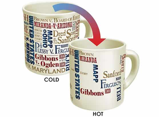 heat changing coffee mugs heat sensitive coffee mugs