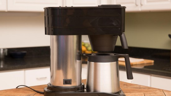 Bunn coffee maker, the Bunn BXB Velocity Brew