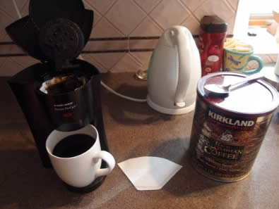 Review of the Black and Decker coffee maker DCM18S