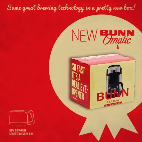 Bunn-Omatic coffee maker box