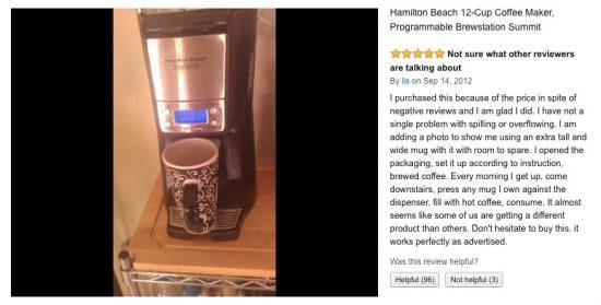 Hamilton Beach Brewstation review