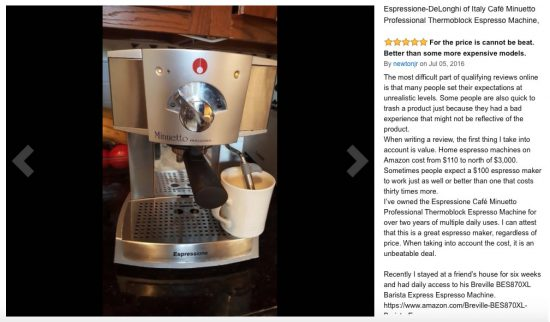 best espresso machine delonghi