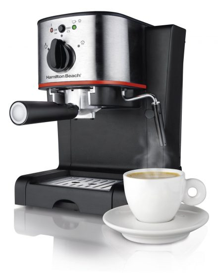best espresso machine hamilton beach 40792