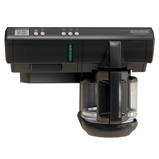 under the cabinet coffee maker black and decker