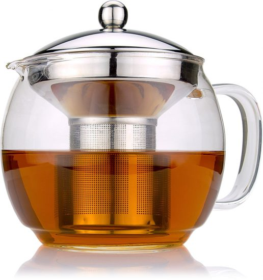 glass pot tea infuser cold brew coffee maker