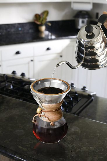 pour over coffee filter chemex