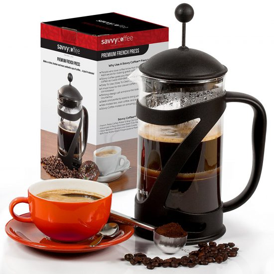 Savvy french press coffee maker
