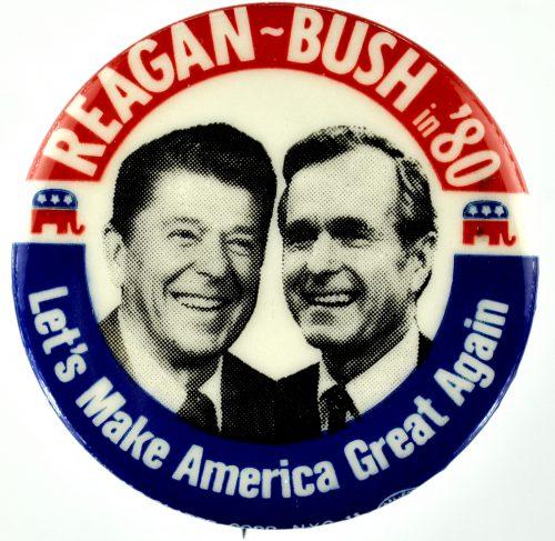 reagan trump make america great again