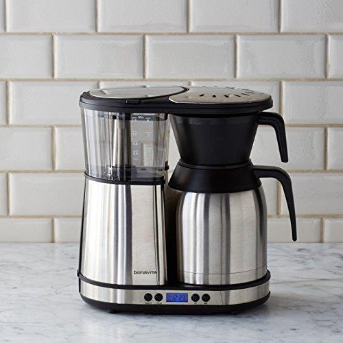 best pour over coffee maker bonavita bv1900td scaa certified
