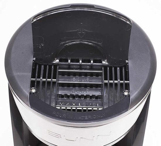 bunn heat n brew sca certified coffee maker plastic reservoir