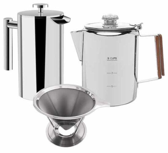 bunn vp17 stainless steel coffee maker