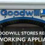 do goodwill stores recycle appliances